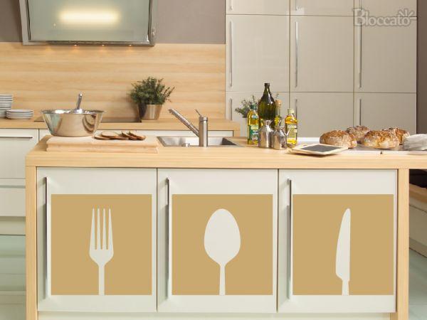 Adesivo Geladeira Personalizada ~ Adesivo Decorativo de Parede Cozinha Utensílios